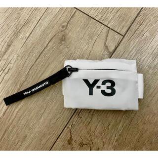 ワイスリー(Y-3)のY-3 ミニリストウォレット ホワイト(コインケース/小銭入れ)