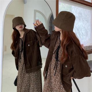 ゴゴシング(GOGOSING)の韓国ファッション♡ユーデュロイジャケット新品(Gジャン/デニムジャケット)