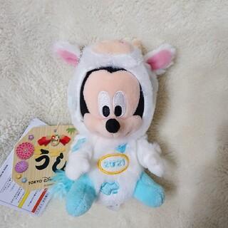 ディズニー(Disney)の2021年 丑年 干支ぬいぐるみシリーズ ミッキー ぬいば(ぬいぐるみ)