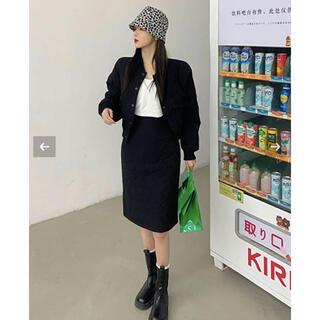スタイルナンダ(STYLENANDA)の韓国ファッション♡キルティングジャケットセットコーデ(セット/コーデ)