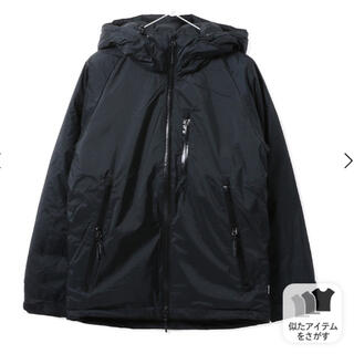 ナンガ(NANGA)の黒S nanga ナンガ オーロラ ダウンジャケット 新品 定価以下 セール!(ダウンジャケット)