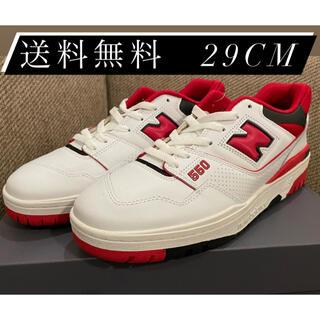ニューバランス(New Balance)のNew balance BB550 Red ニューバランス スニーカー 29cm(スニーカー)