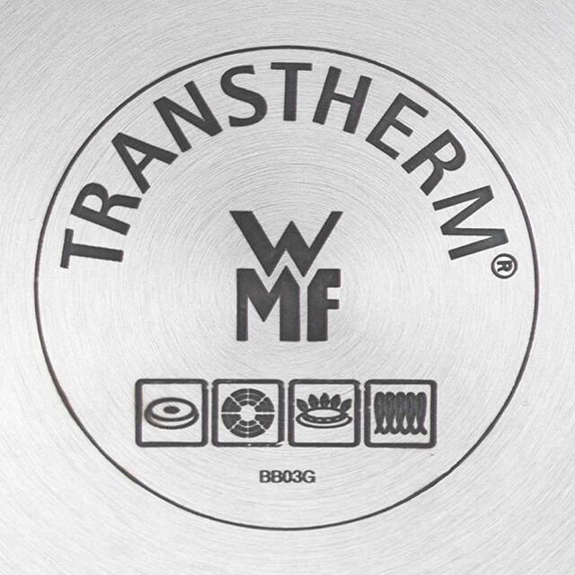 WMF(ヴェーエムエフ)のWMF ステンレス 鍋 10点セット 海外 限定 シルバー IH対応 インテリア/住まい/日用品のキッチン/食器(鍋/フライパン)の商品写真