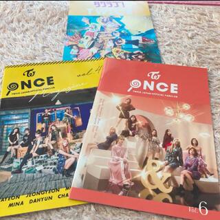ウェストトゥワイス(Waste(twice))のTWICE JAPAN ファンクラブ 会報 NO.4.6 ポストカードおまけ付(K-POP/アジア)
