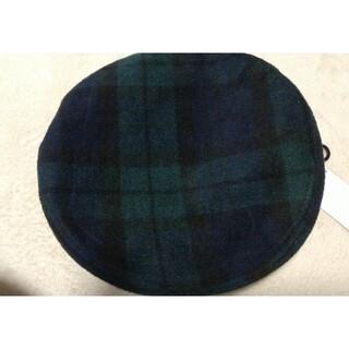 ジーユー(GU)のGUチェックベレー帽(ハンチング/ベレー帽)