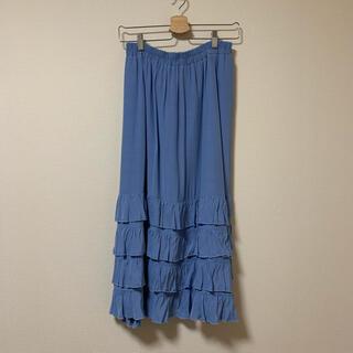 レイビームス(Ray BEAMS)のRay BEAMS ティアード スカート(ロングスカート)
