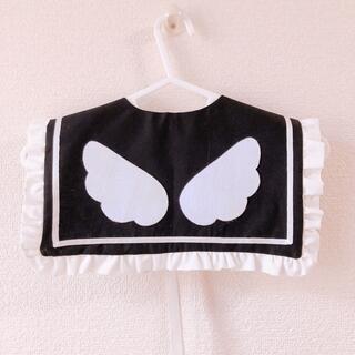 【受注制作】天使の羽 セーラー襟 付け襟 量産型 ゴスロリ ロリータ(つけ襟)