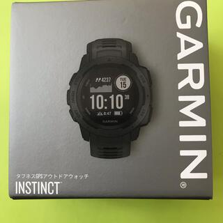 ガーミン(GARMIN)の新品 Garmin Instinct Graphite 010-02064-12(腕時計(デジタル))