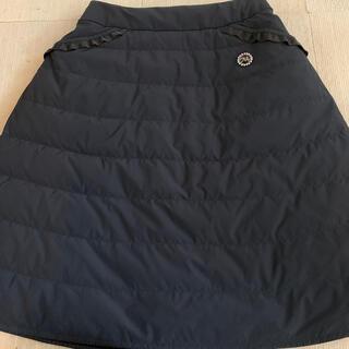 エムズグレイシー(M'S GRACY)のお値下げ‼️エムズグレイシー ♡ダウンスカート(ひざ丈スカート)