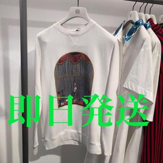 ロエベ(LOEWE)のロエベ 男女兼用 ロゴ入り綿トレーナー S(トレーナー/スウェット)