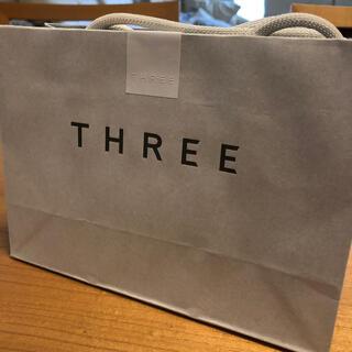 スリー(THREE)のTHREE♦︎ショッパー(ショップ袋)