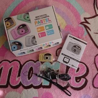 【値下げ不可】新品未使用!!ミニデジタル ビデオカメラ  パステル  (コンパクトデジタルカメラ)