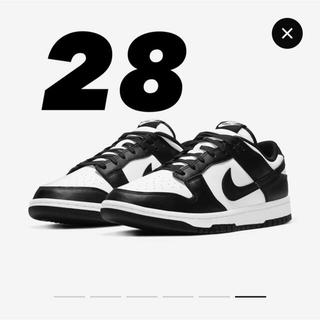 ナイキ(NIKE)の28 Nike Dunk Low Black(スニーカー)