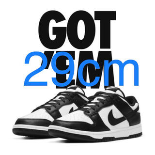 ナイキ(NIKE)のNIKE DUNK LOW  BLACK 29cm(スニーカー)