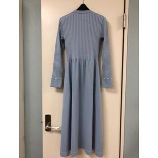 ルネ(René)のロココ様専用!新品 ルネ Knit Dress Daily Elegance(ロングワンピース/マキシワンピース)