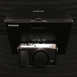 フジフイルム(富士フイルム)のフジフイルム X-E3 FUJIFILM ミラーレス一眼カメラ(ミラーレス一眼)