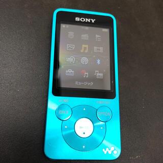 ウォークマン(WALKMAN)のSONY ウォークマン NW-S784 8GB ブルー(ポータブルプレーヤー)