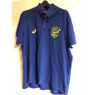 アシックス(asics)のasics Springboks land rover オフィシャルシャツ非売品(ラグビー)