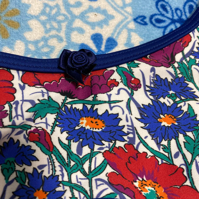 CHACOTT(チャコット)の新品チャコットスカート付きレオタード130リバティ生地 バレエ キッズ/ベビー/マタニティのキッズ服女の子用(90cm~)(その他)の商品写真