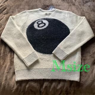 ステューシー(STUSSY)のstussy 8ball HeavyMohair Sweater  sizeM(ニット/セーター)