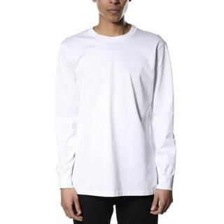 アタッチメント(ATTACHIMENT)の60/2 ギザシルキー天竺クルーネックロンT AJ93-242(Tシャツ/カットソー(七分/長袖))
