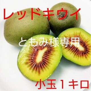 ともみ様専用【期間限定値下げ!】無農薬!キウイフルーツ【レッドキウイ】1キロ(フルーツ)