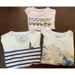 Design Tshirts Store graniph - グラニフ こぐまちゃん シャツ 80(90) ベビーピンク 中古