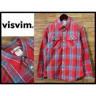 ヴィスヴィム(VISVIM)の極美品 VISVIM ビズビム 13SS ヘビーフランネル チェック シャツ S(シャツ)