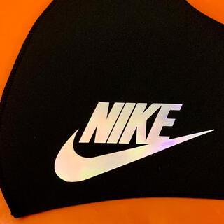 NIKE - NIKE スポーツ用 ウレタン インナー ブラック ホログラムロゴ