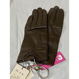 ランバンコレクション(LANVIN COLLECTION)のランバン 革手袋 グローブホルダーセット(手袋)