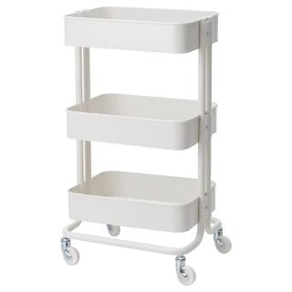 イケア(IKEA)の【未使用新品】IKEAイケアRÅSKOG ロースコグ ホワイト(キッチン収納)
