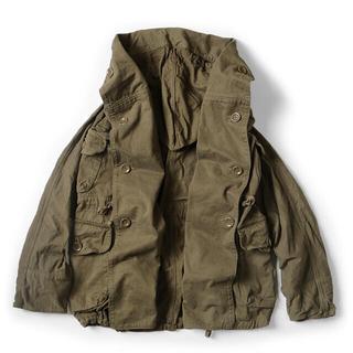 キャピタル(KAPITAL)のKAPITAL Ring Coat かつらぎ起毛 リングコート カーキ(ミリタリージャケット)