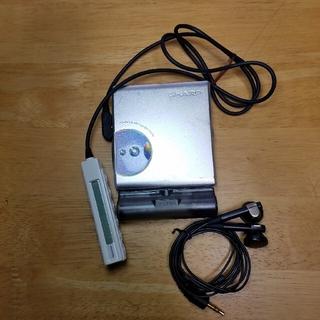 シャープ(SHARP)のSharp MD-ST500-W(ポータブルプレーヤー)