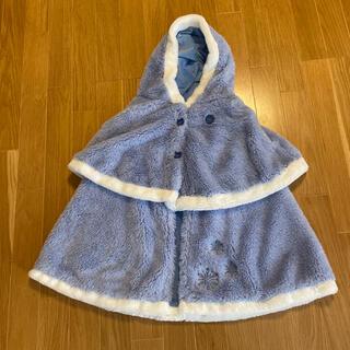 ディズニー(Disney)の希少 レア ディズニー公式 アナ雪2 ケープポンチョ かわいい(ドレス/フォーマル)