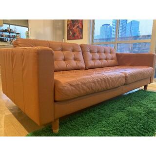 イケア(IKEA)の定価14万 IKEA ランズクローナ ソファ(三人掛けソファ)