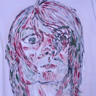 フィアオブゴッド(FEAR OF GOD)の「手描きペンキTシャツ」  Kurtt Cobain カートコバーン(Tシャツ/カットソー(半袖/袖なし))