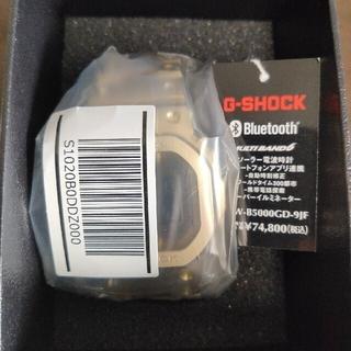ジーショック(G-SHOCK)の新品未使用 GMW-B5000GD-9JF(腕時計(デジタル))