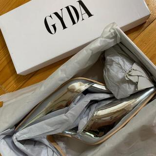 GYDA - ジェイダ パンプス ミュール シルバー