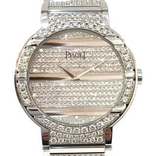 ピアジェ(PIAGET)の8464 Piaget ピアジェ ポロ ホワイトゴールド フルダイヤ 自動巻(腕時計)