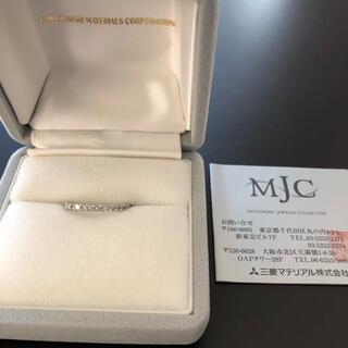 ミツビシ(三菱)のhoshi様専用 三菱マテリアル ハーフエタニティリング(ネックレス)