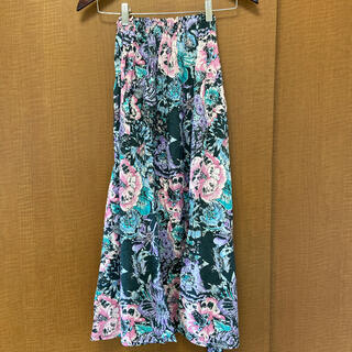 シールームリン(SeaRoomlynn)のシールームリン フラワーギャザースカート(ロングスカート)