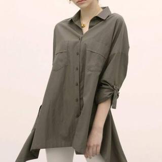アリシアスタン(ALEXIA STAM)のアリシアスタン2020SS オーバーサイズシャツ(シャツ/ブラウス(長袖/七分))
