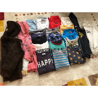 グルービーカラーズ(Groovy Colors)の子供服  まとめ売り  パーカー  トレーナー  パンツ(Tシャツ/カットソー)