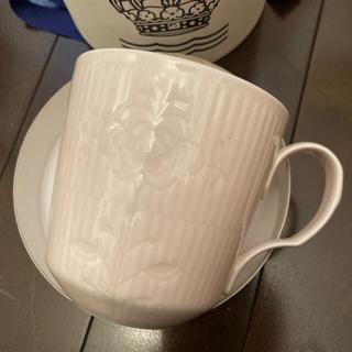 ロイヤルコペンハーゲン(ROYAL COPENHAGEN)の新品未使用!箱付きのロイヤルコペンハーゲン マグカップ&プレート(グラス/カップ)