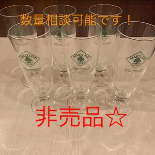 ☆非売品☆ハートランドビールグラス6脚セット