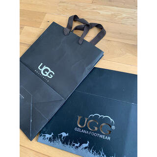 アグ(UGG)のUGG 空箱(ショップ袋)