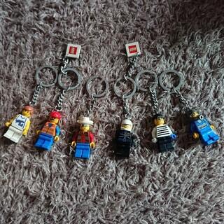 レゴ(Lego)のLEGO レゴ レゴランド キーホルダー 6個 セット(キーホルダー)