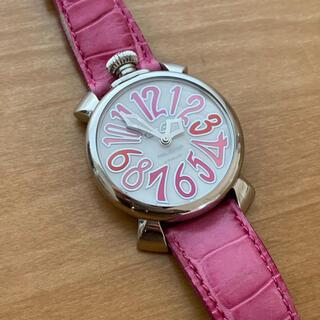 ガガミラノ(GaGa MILANO)のgaga ガガミラノ ピンク (腕時計)