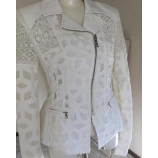 BCBGMAXAZRIA - bcbgmaxazria  ジャケット 白 ホワイト