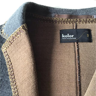kolor - kolor カラー ジャケット 美品 多分、未使用、見覚えなし
